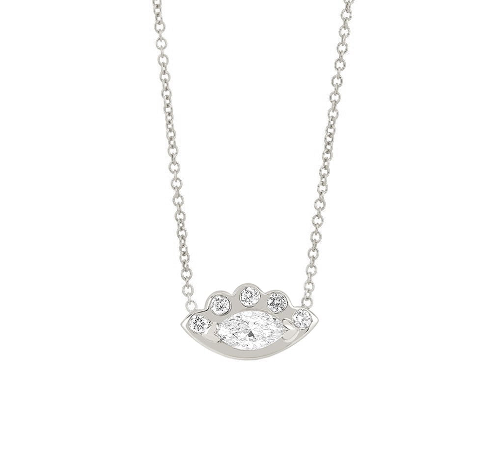 Angel Eye Diamond Necklace Angel Eye Diamond Necklace