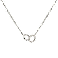 Baby Solid Interlocking Unity Necklace Baby Solid Interlocking Unity Necklace