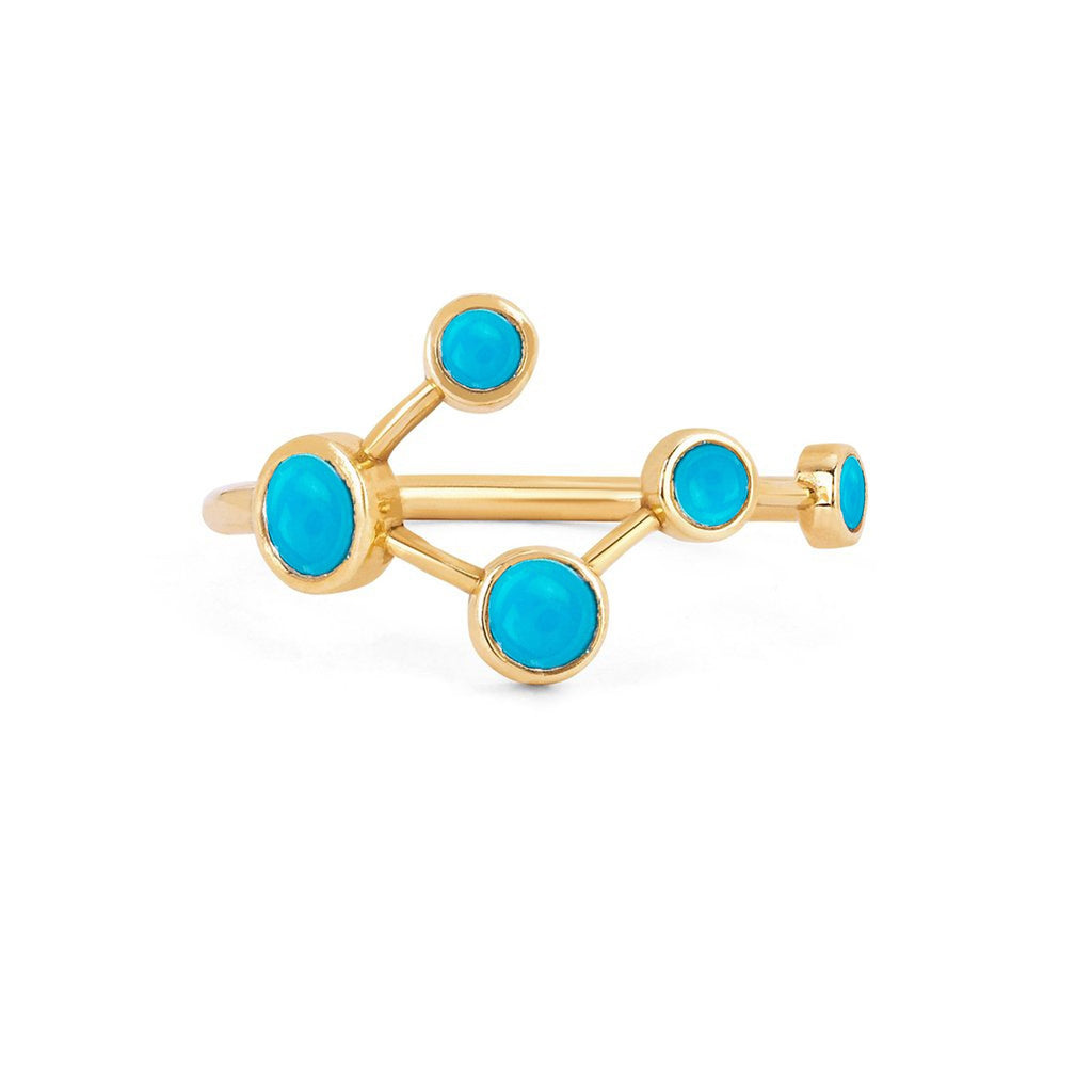 NEW! Turquoise Big Dipper Ring NEW! Turquoise Big Dipper Ring