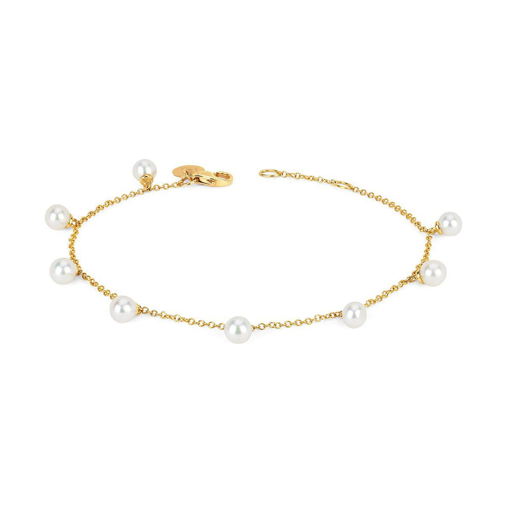 8 Lunar Pearl Orbit Drop Bracelet 8 Lunar Pearl Orbit Drop Bracelet