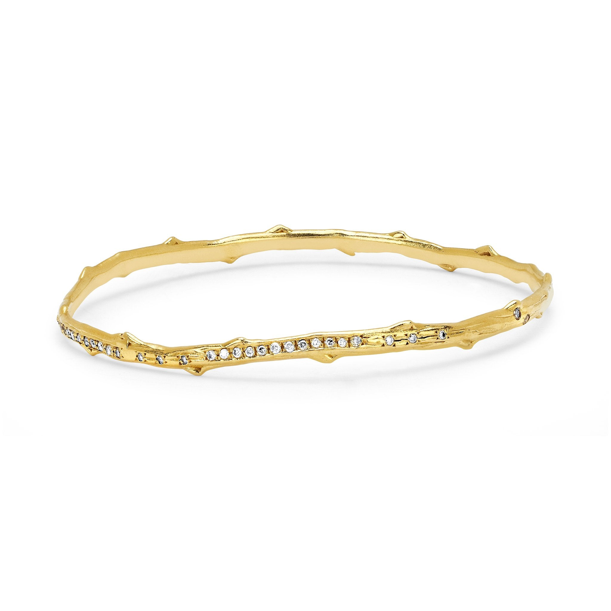 bangle bangles two diamond pave collection bracelet london row