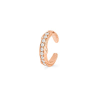 Single Row Pavé Rose Thorn Ear Cuff Single Row Pavé Rose Thorn Ear Cuff
