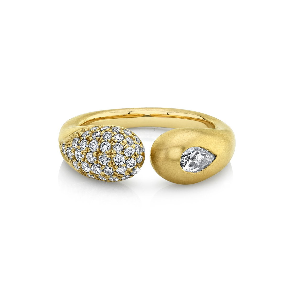 NEW! Elixir of Life Pavé Diamond Ring