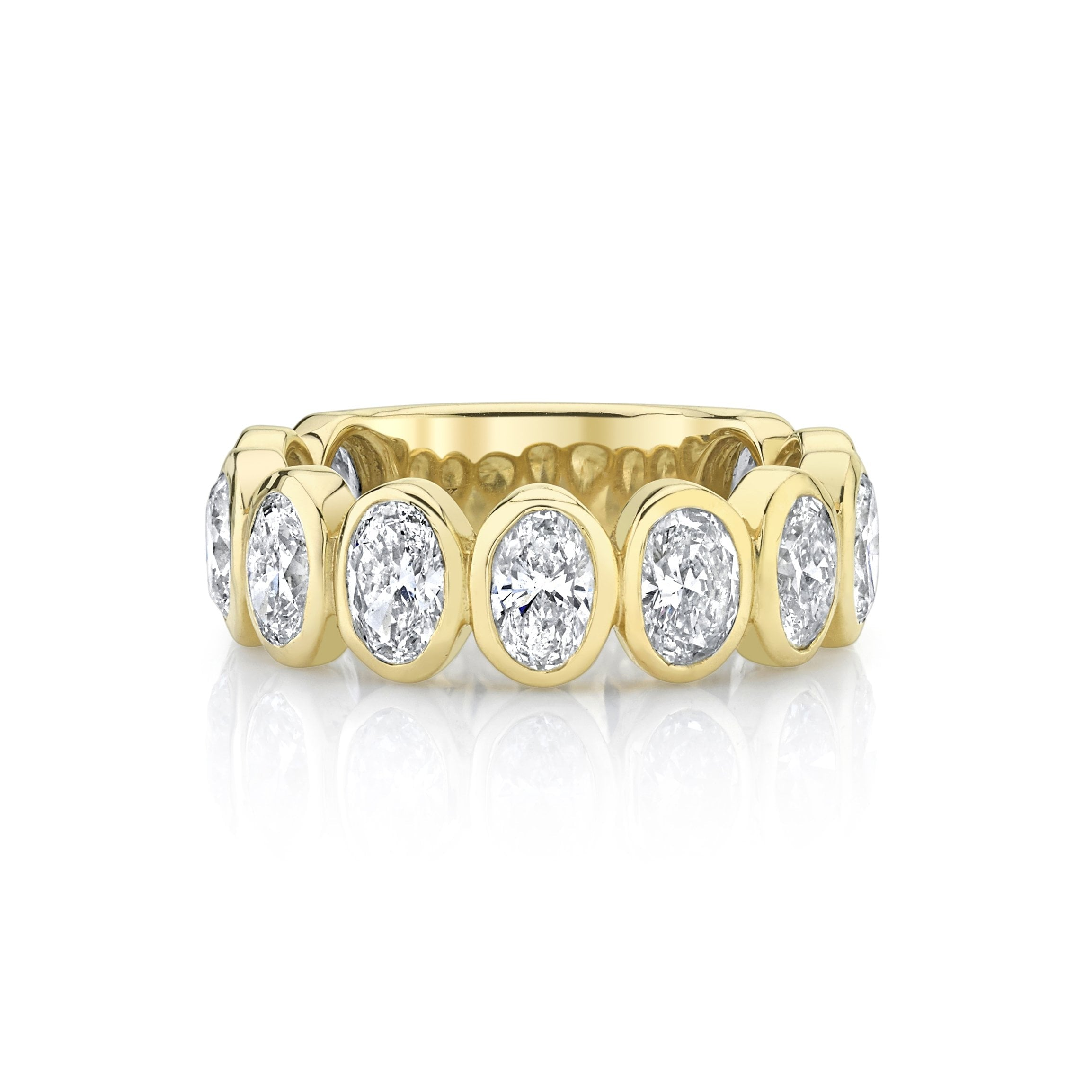 NEW! Oval Diamond Band