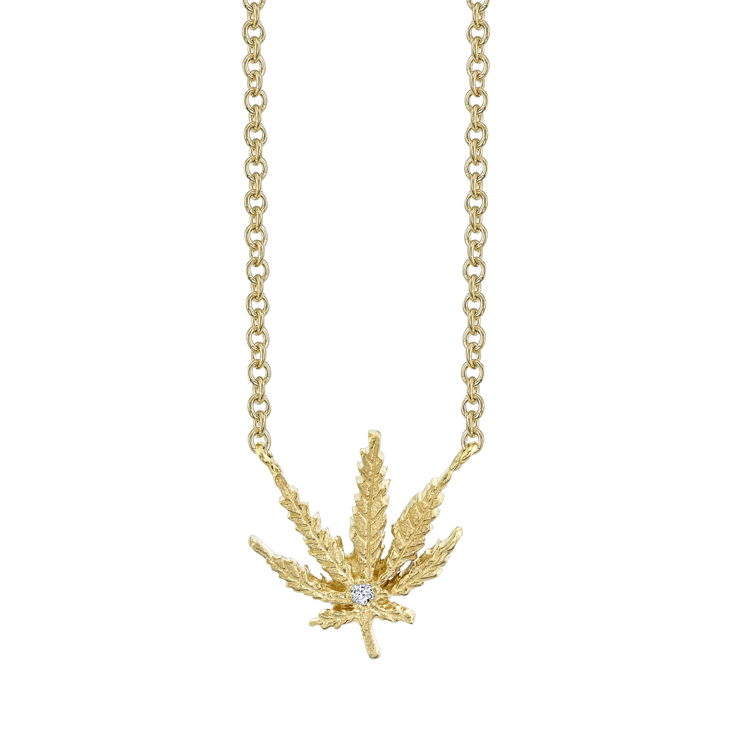 NEW! Kaya Leaf Necklace