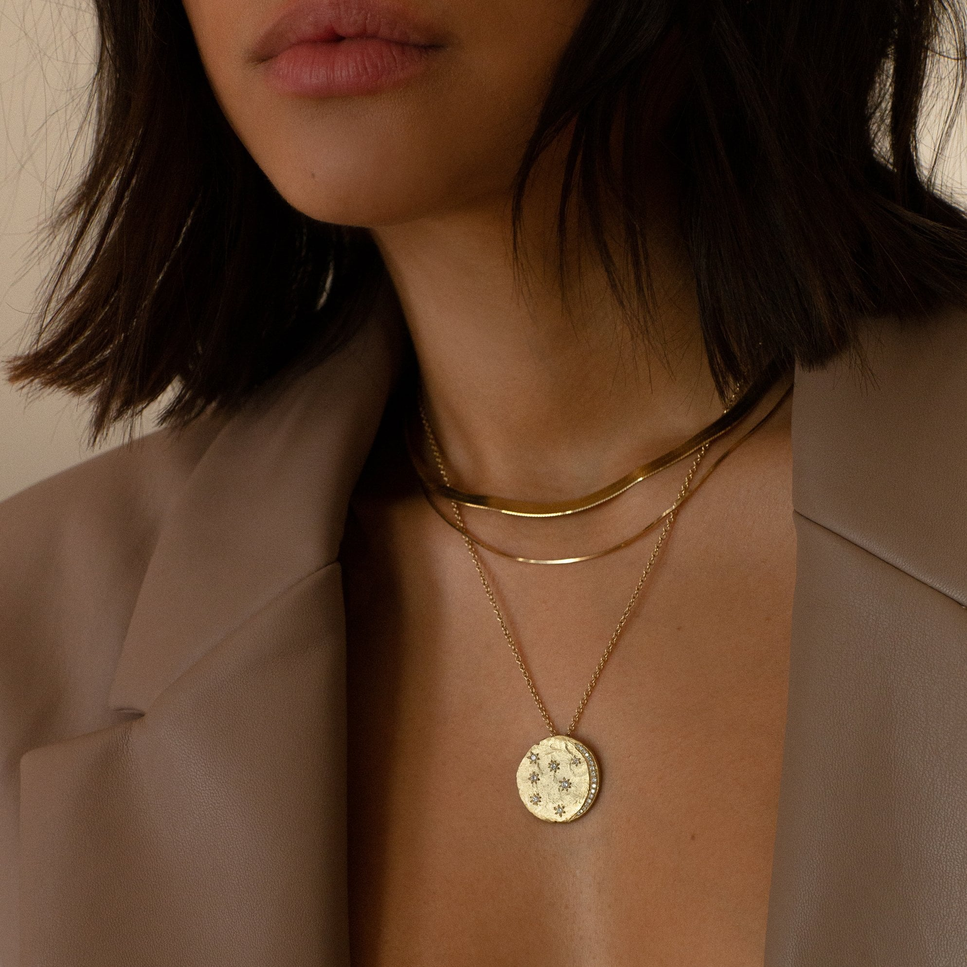 "18k ""An Alchemist's Dream"" Coin Necklace"