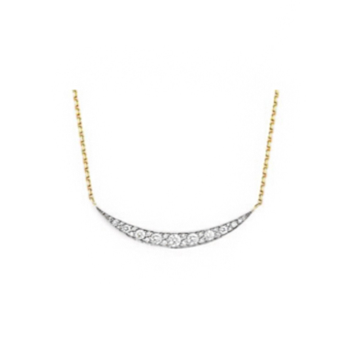 Constellation Crescent Necklace