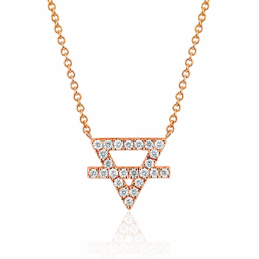 NEW! Earth Element Pavé Diamond Necklace NEW! Earth Element Pavé Diamond Necklace