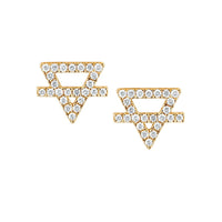NEW! Earth Element Pavé Diamond Studs NEW! Earth Element Pavé Diamond Studs