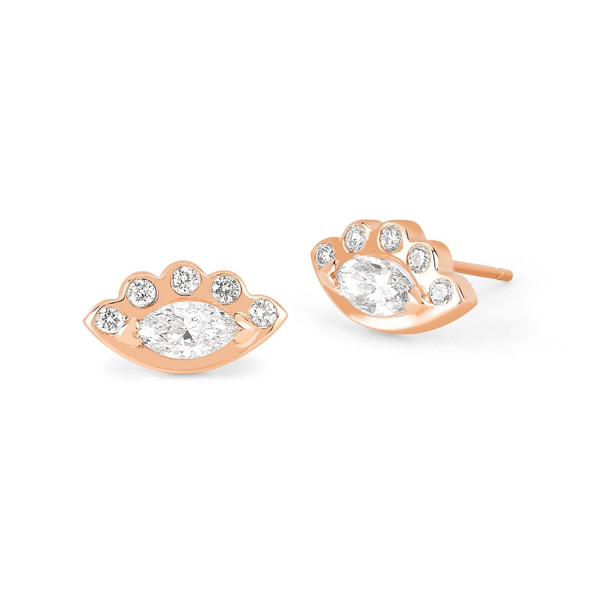 Angel Eye Diamond Studs