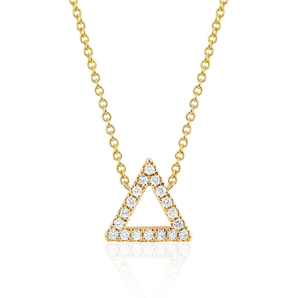 NEW! Fire Element Pavé Diamond Necklace NEW! Fire Element Pavé Diamond Necklace