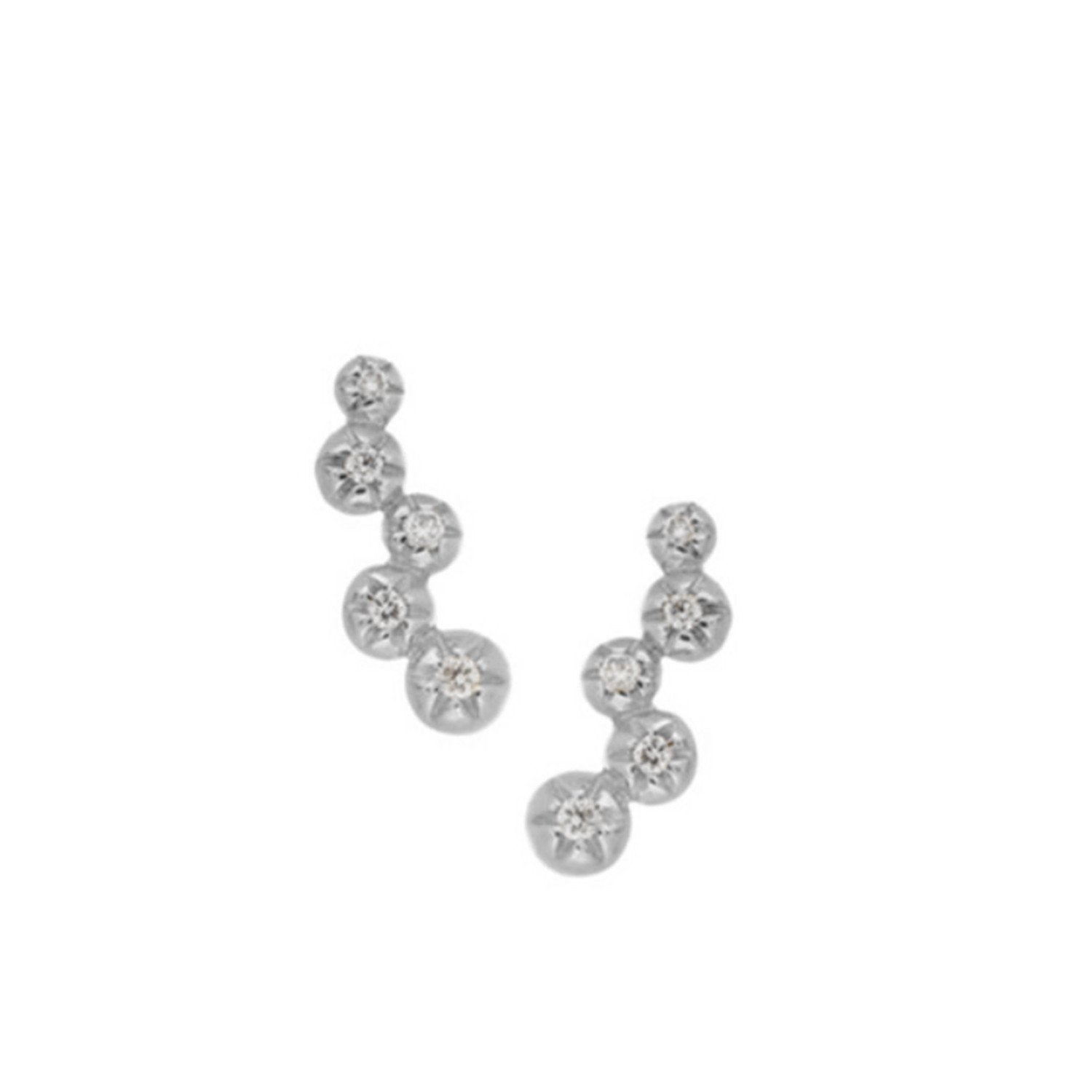 Star Set 5 Diamond Studs