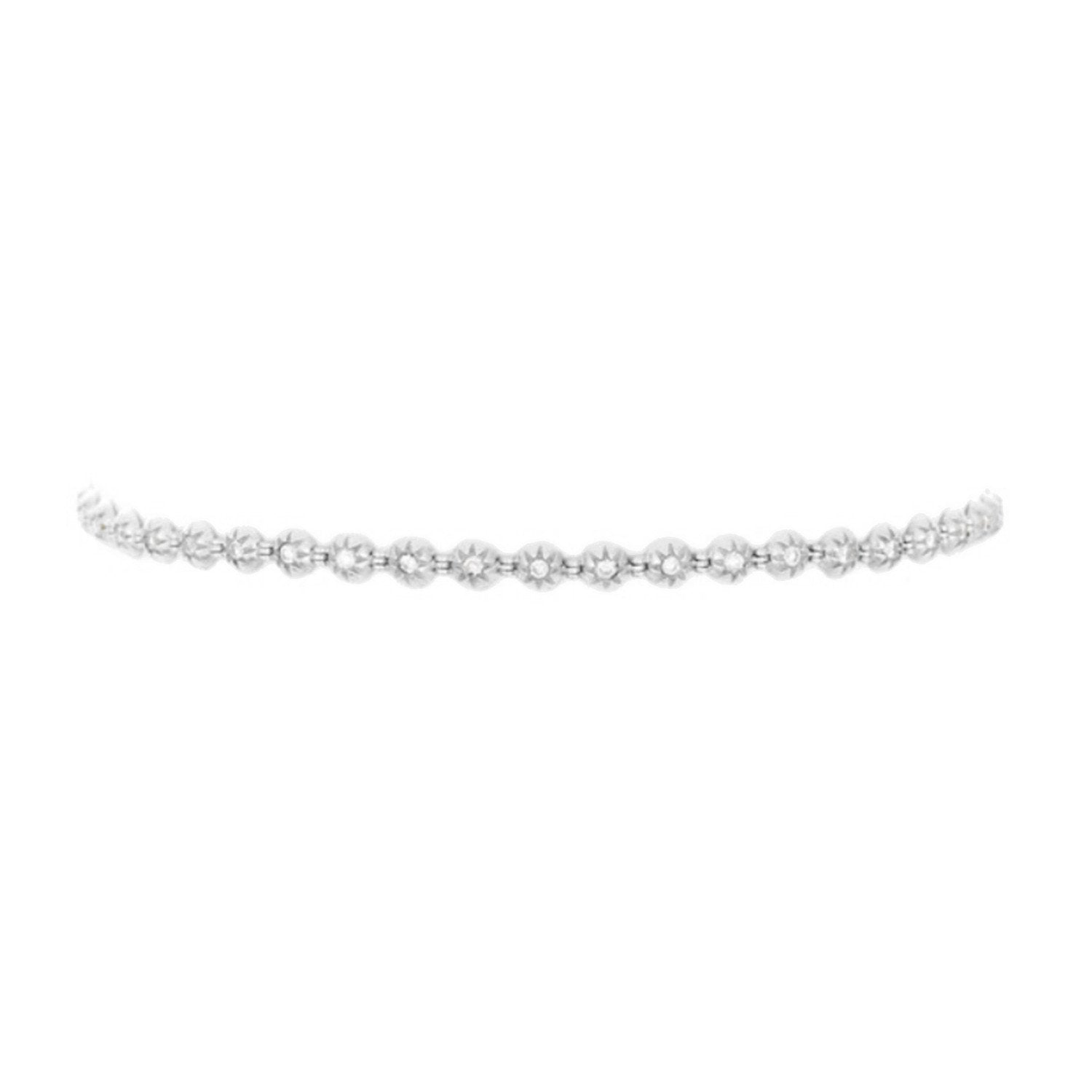 Star Set Diamond Choker