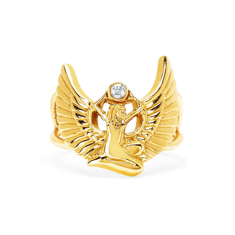 NEW! Sacred Egyptian Goddess of Magic Ring