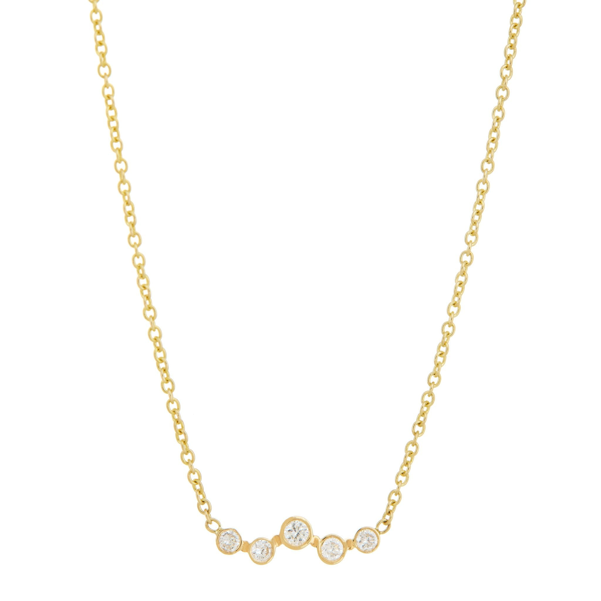 Mini Constellation Star Line Necklace