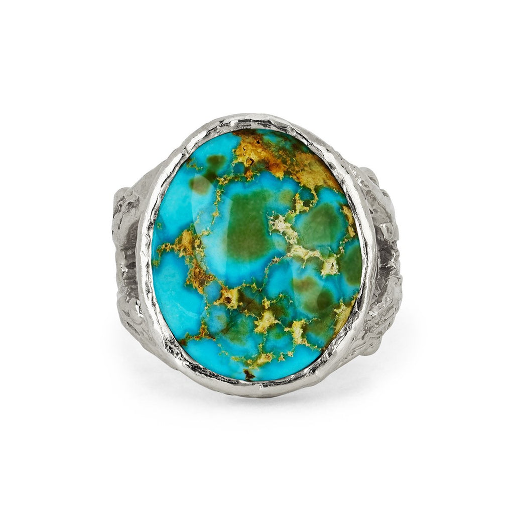 Wilderness Oval Turquoise Mountain Ring Wilderness Oval Turquoise Mountain Ring