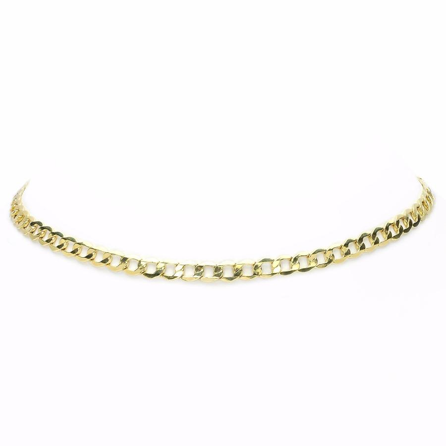 Cubin Linx Choker Yellow Gold