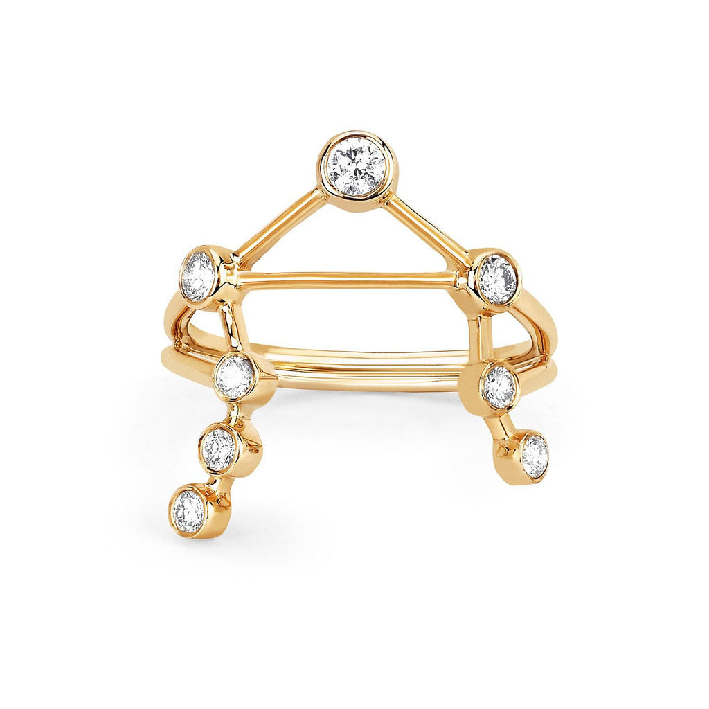 Libra Diamond Constellation Ring Libra Diamond Constellation Ring