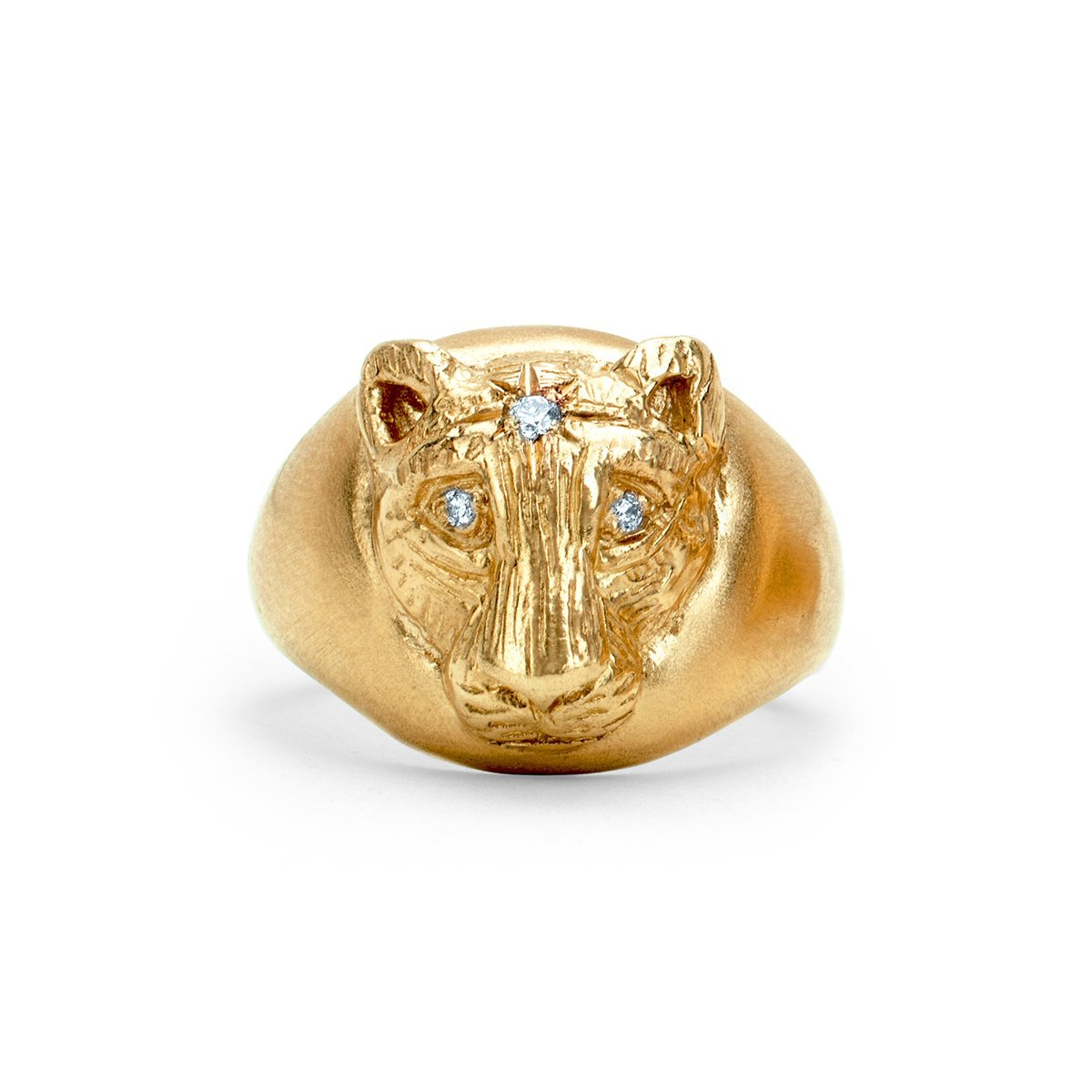 NEW! Baby Lioness Signet Ring
