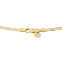 Liquid Gold Herringbone Necklace Liquid Gold Herringbone Necklace
