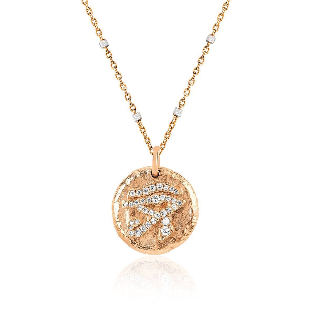NEW! Baby Eye of Horus Coin Necklace NEW! Baby Eye of Horus Coin Necklace