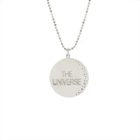 Medium Trust the Universe Moon Necklace Medium Trust the Universe Moon Necklace