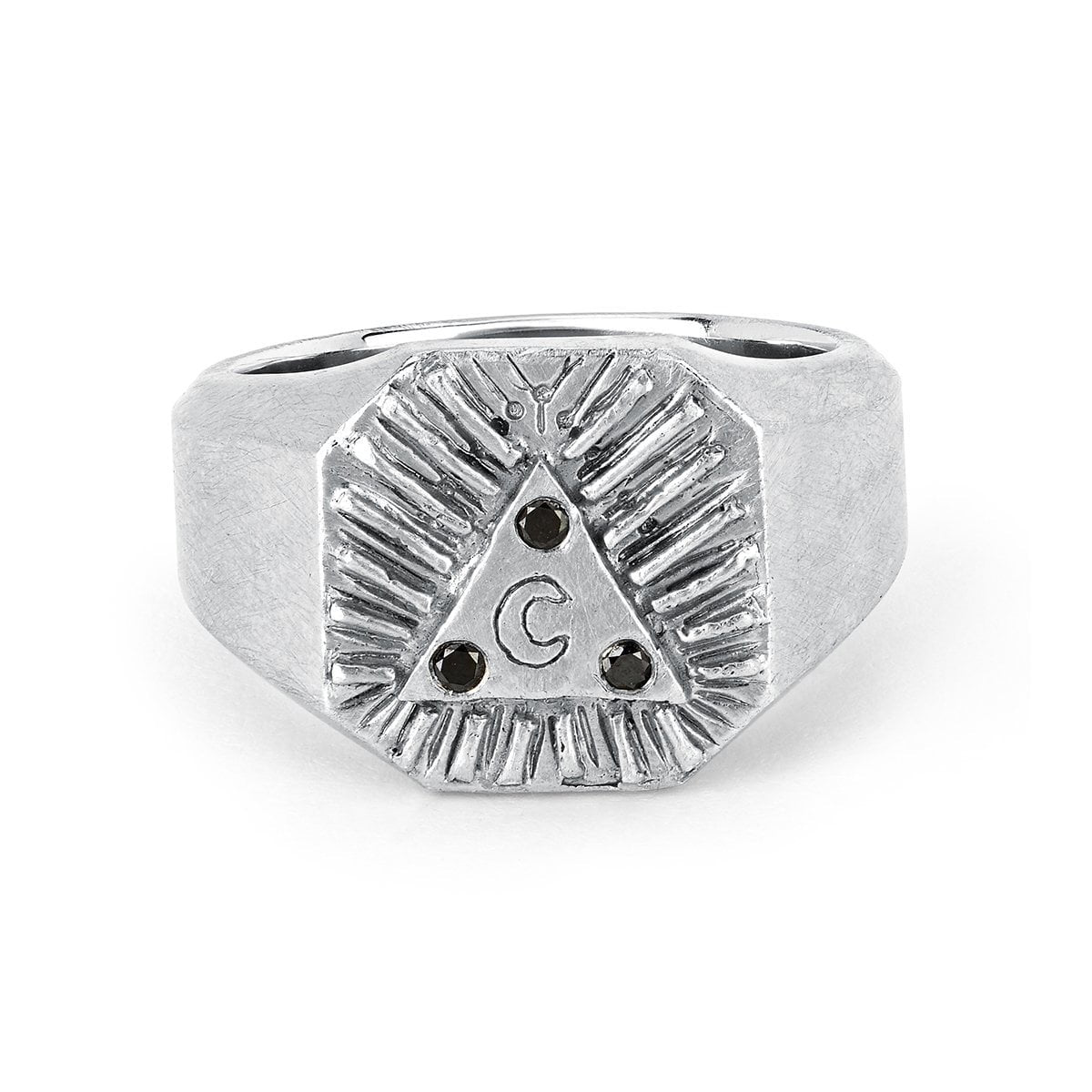 Men's Lunar Alchemy Signet Ring