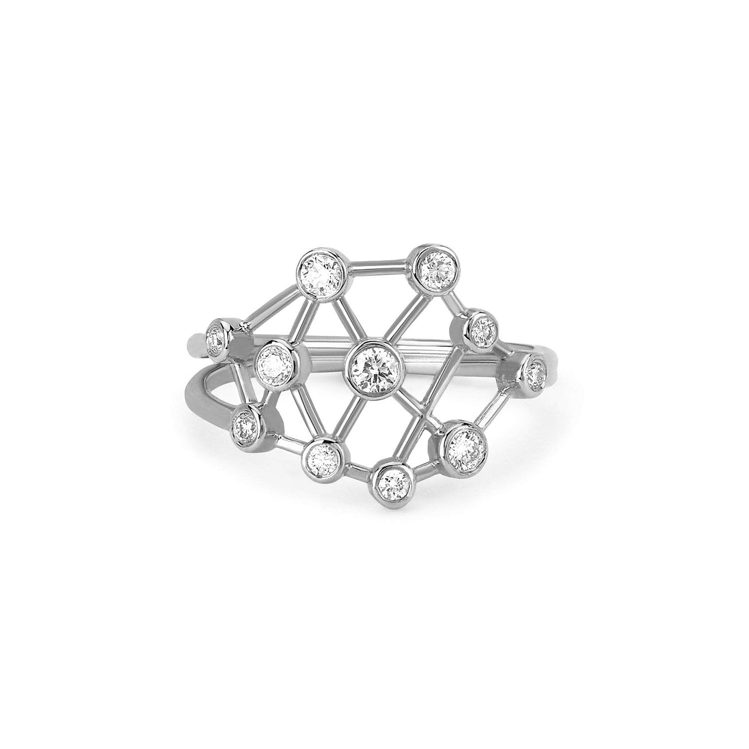 Baby Diamond Constellation Ring