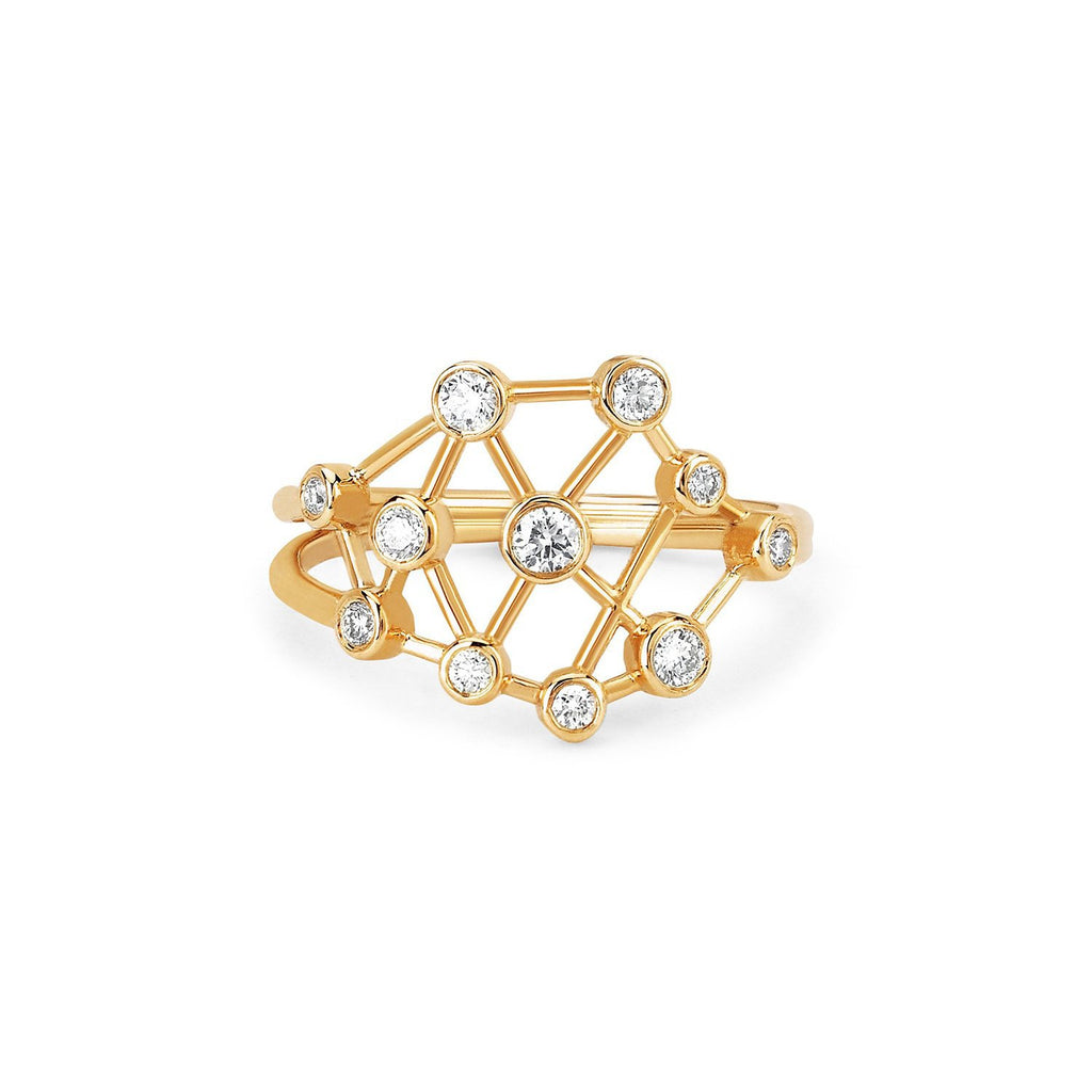 Baby Diamond Constellation Ring Baby Diamond Constellation Ring