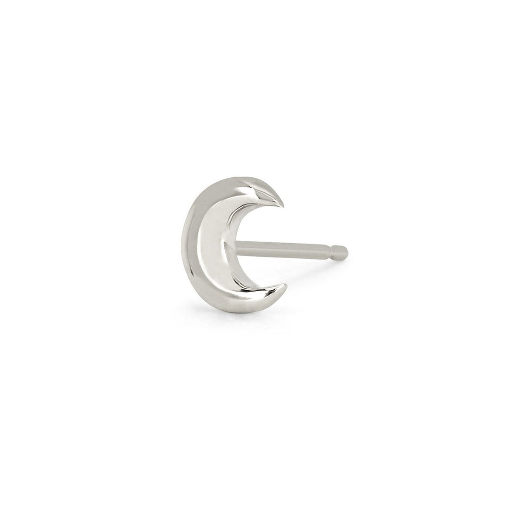 NEW! Crescent Gold Studs NEW! Crescent Gold Studs