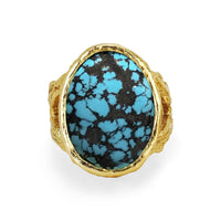 Oval Turquoise Rose Thorn Ring Oval Turquoise Rose Thorn Ring