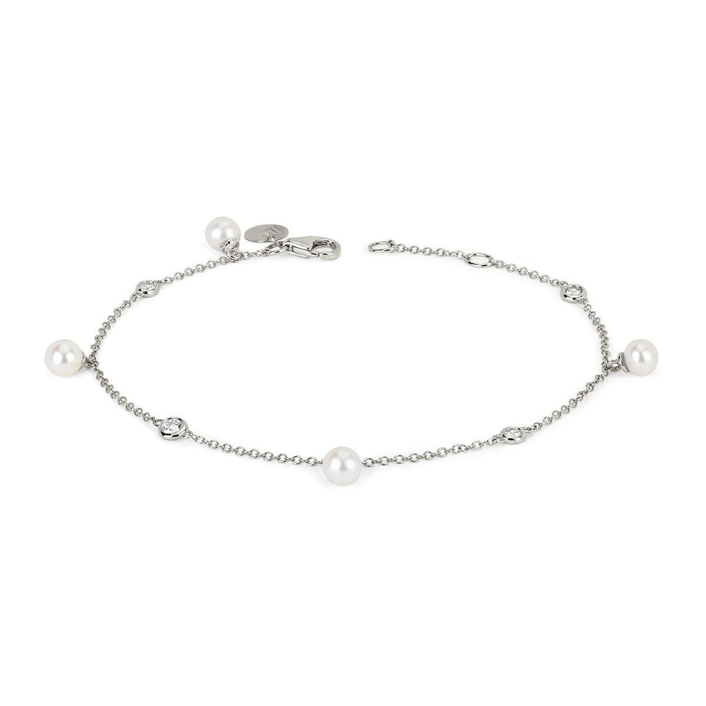 4 Lunar Pearl Orbit Drop Bracelet 4 Lunar Pearl Orbit Drop Bracelet