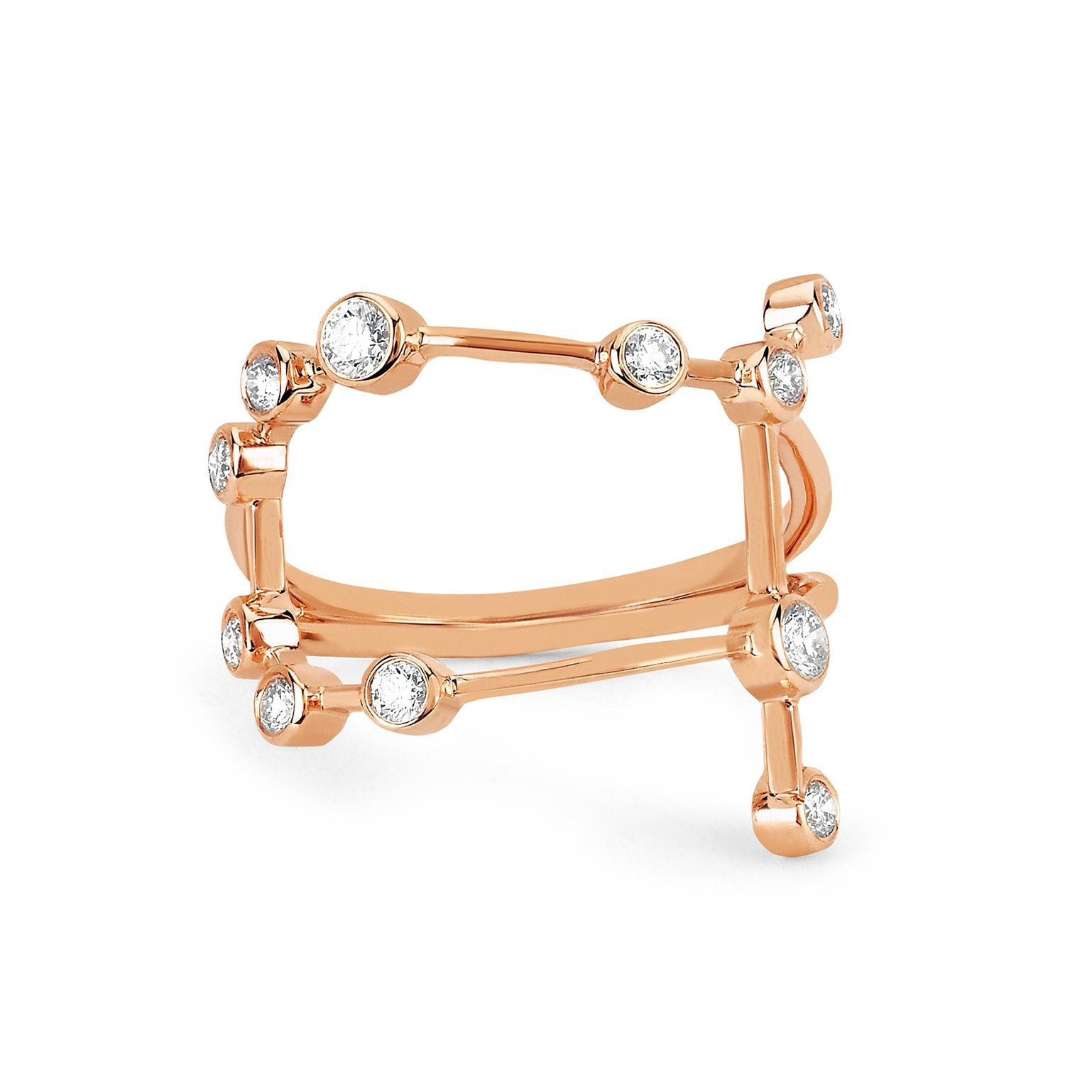 Gemini Constellation Ring