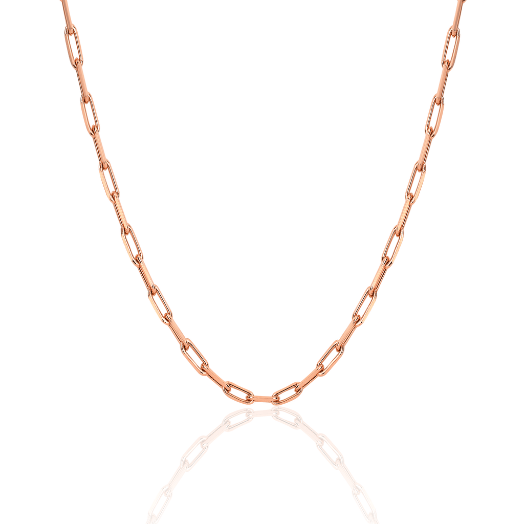 Alchemy Link Necklace Rose Gold