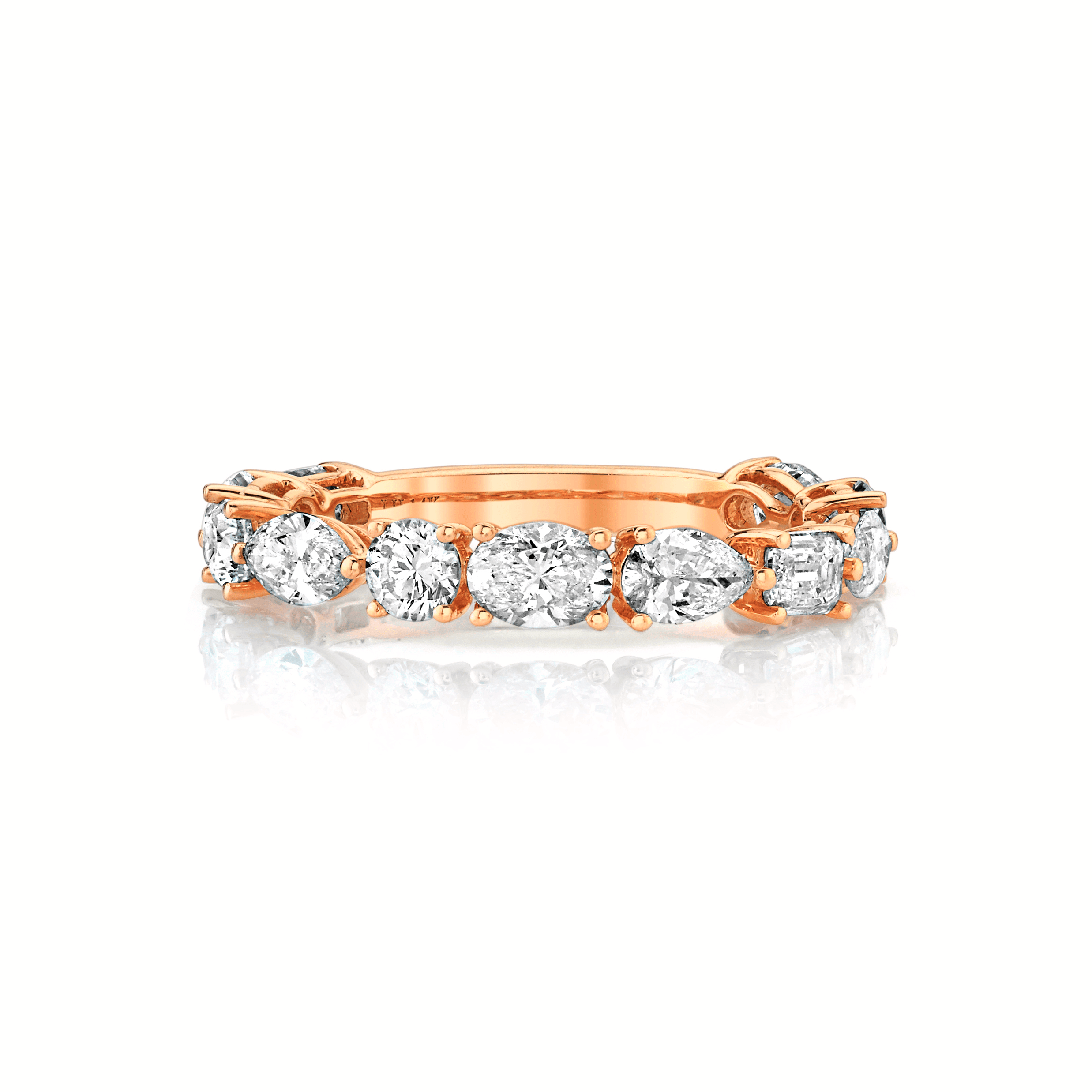 NEW! Multi Shape Diamond Band