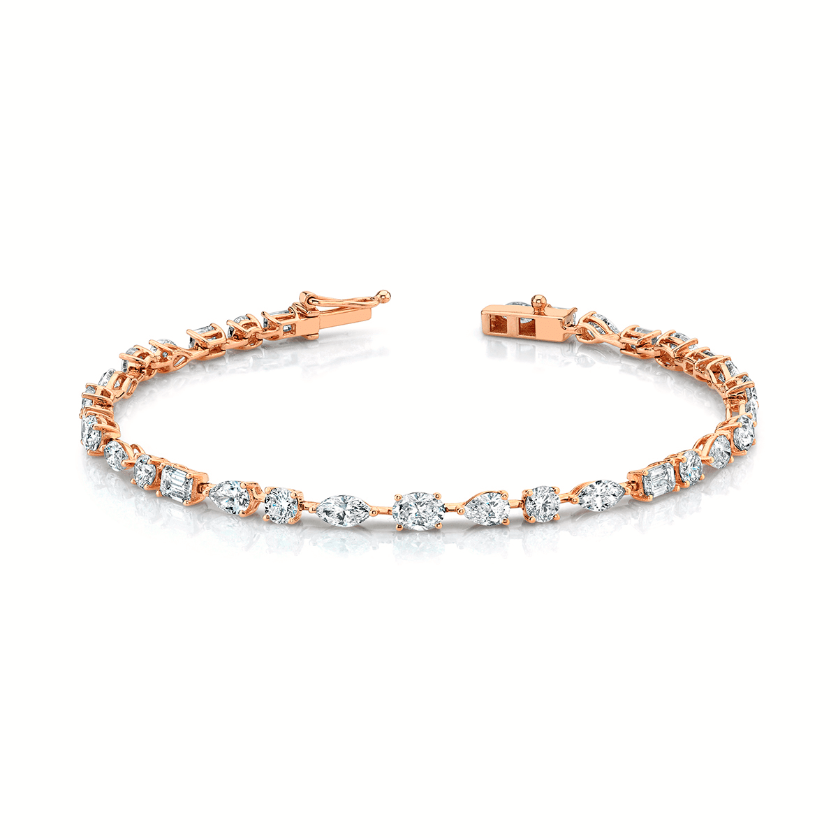 NEW! Multi Shape Diamond Bracelet