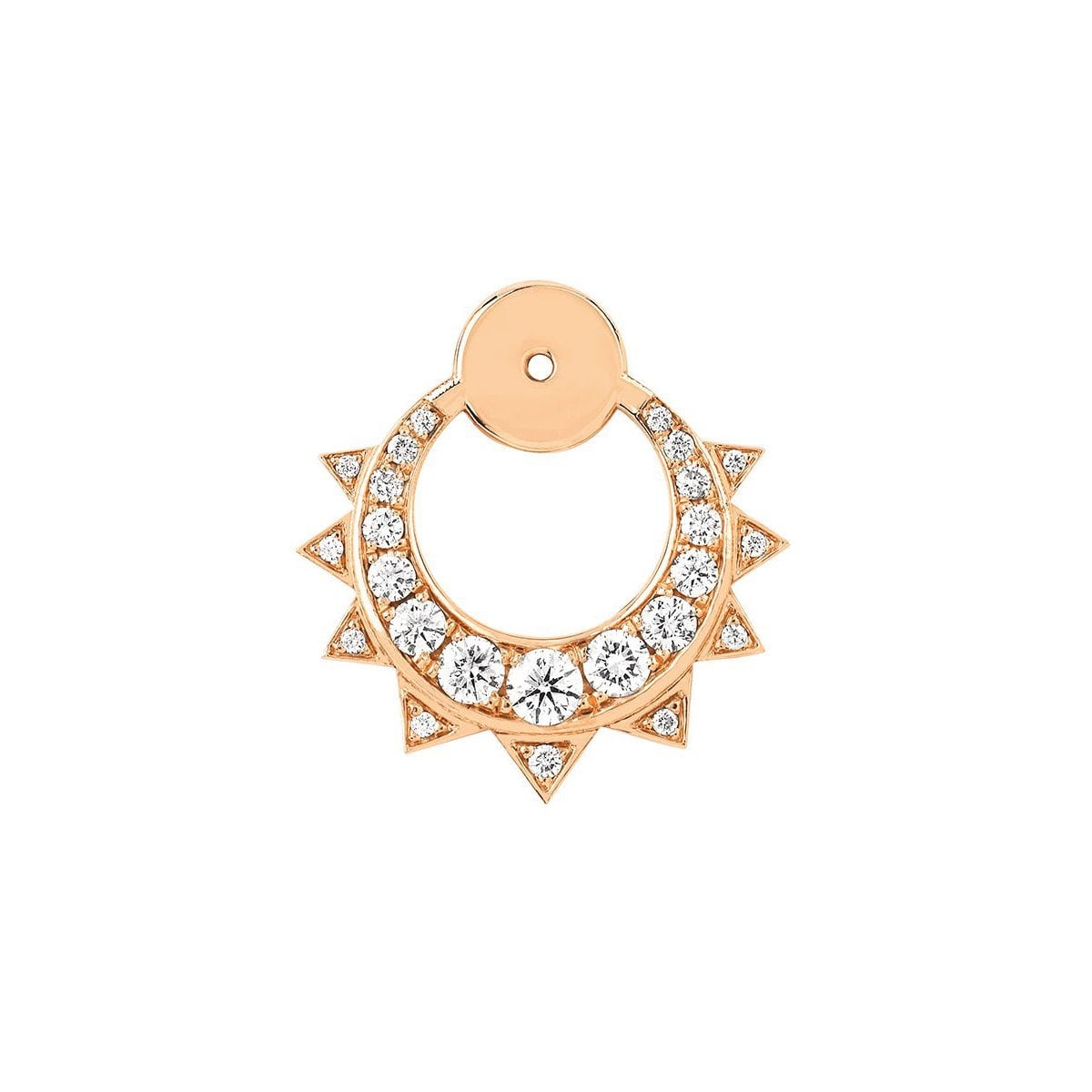 Unity Pavé Diamond Sun & Moon Ear Jackets