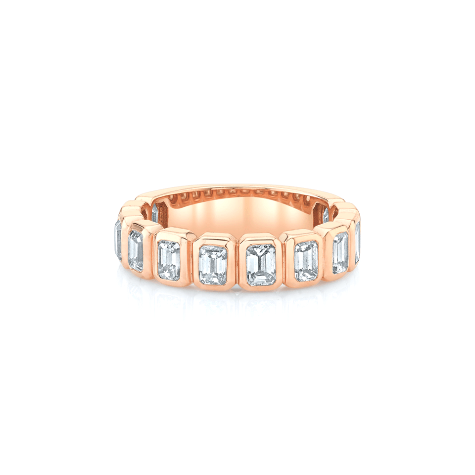 NEW! Emerald Cut Diamond Band