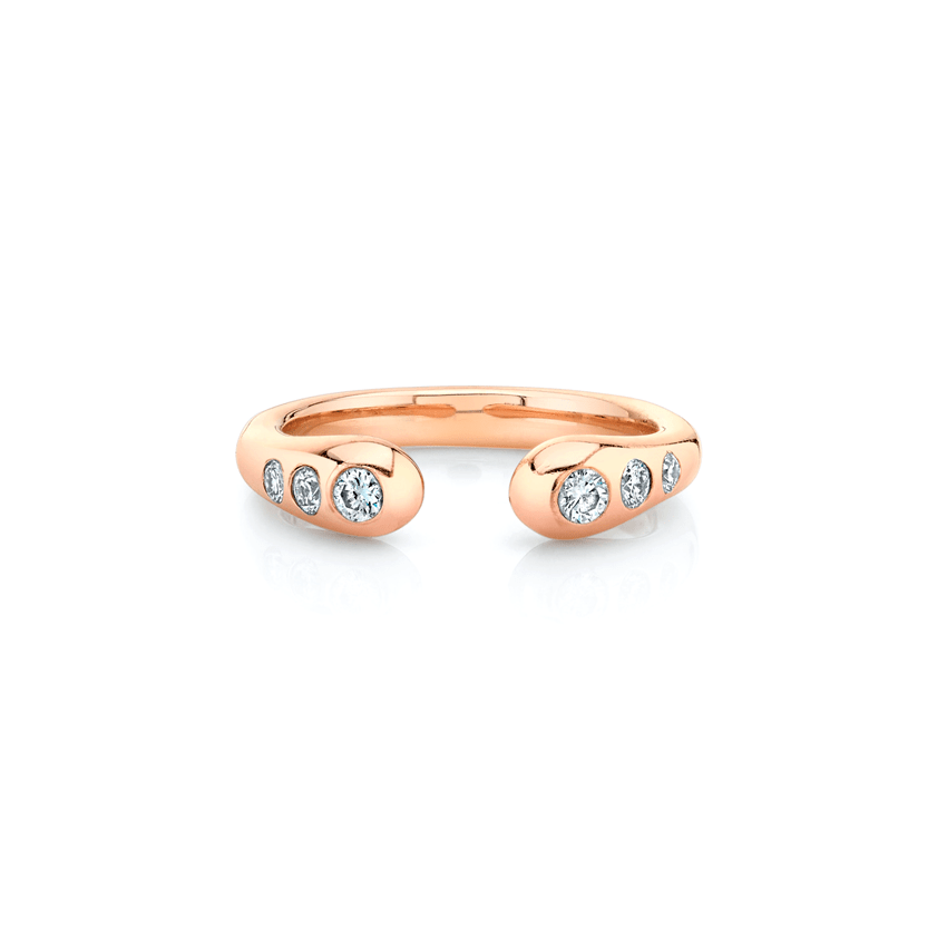 NEW! Three Diamond Baby Elixir of Life Ring