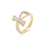 Eternal Ankh Full Pavé Ring Eternal Ankh Full Pavé Ring