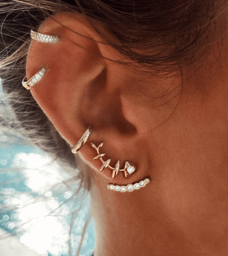 Orbit Seven Diamond Ear Jacket Orbit Seven Diamond Ear Jacket