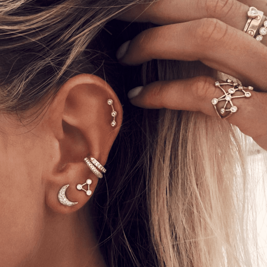 Ursa Major Diamond Split Studs