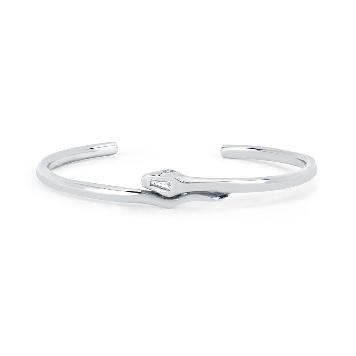 NEW! Solid Kundalini Cuff with Diamond Detail