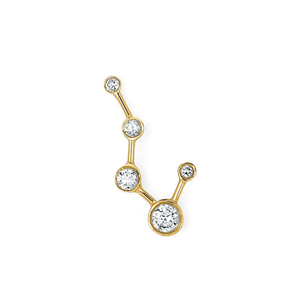 Big Dipper Constellation Diamond Earrings