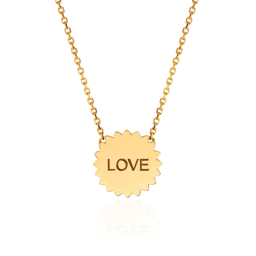 Mini ONE LOVE Sunshine Necklace Mini ONE LOVE Sunshine Necklace