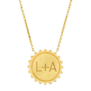 "Classic ""You Are My Sunshine"" Necklace SOLID"