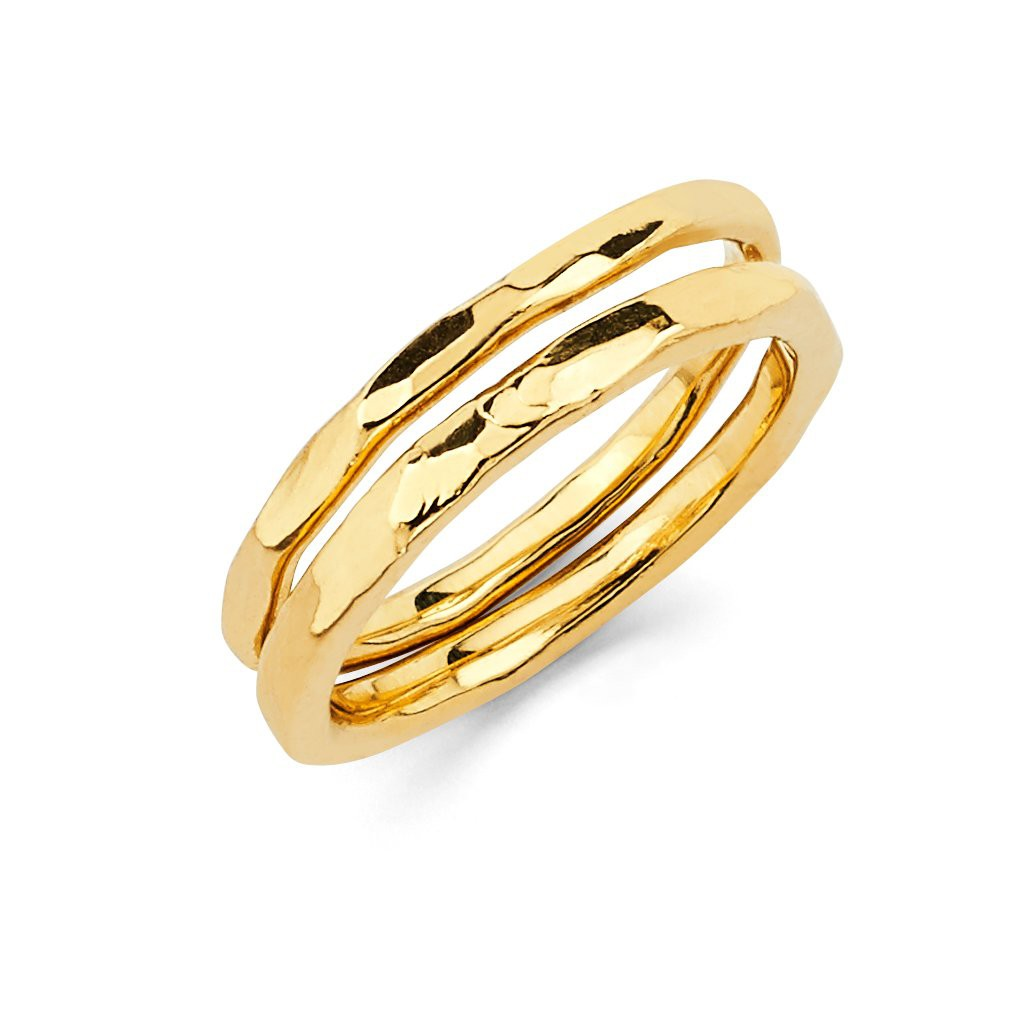 Solid Gold Stacker Set