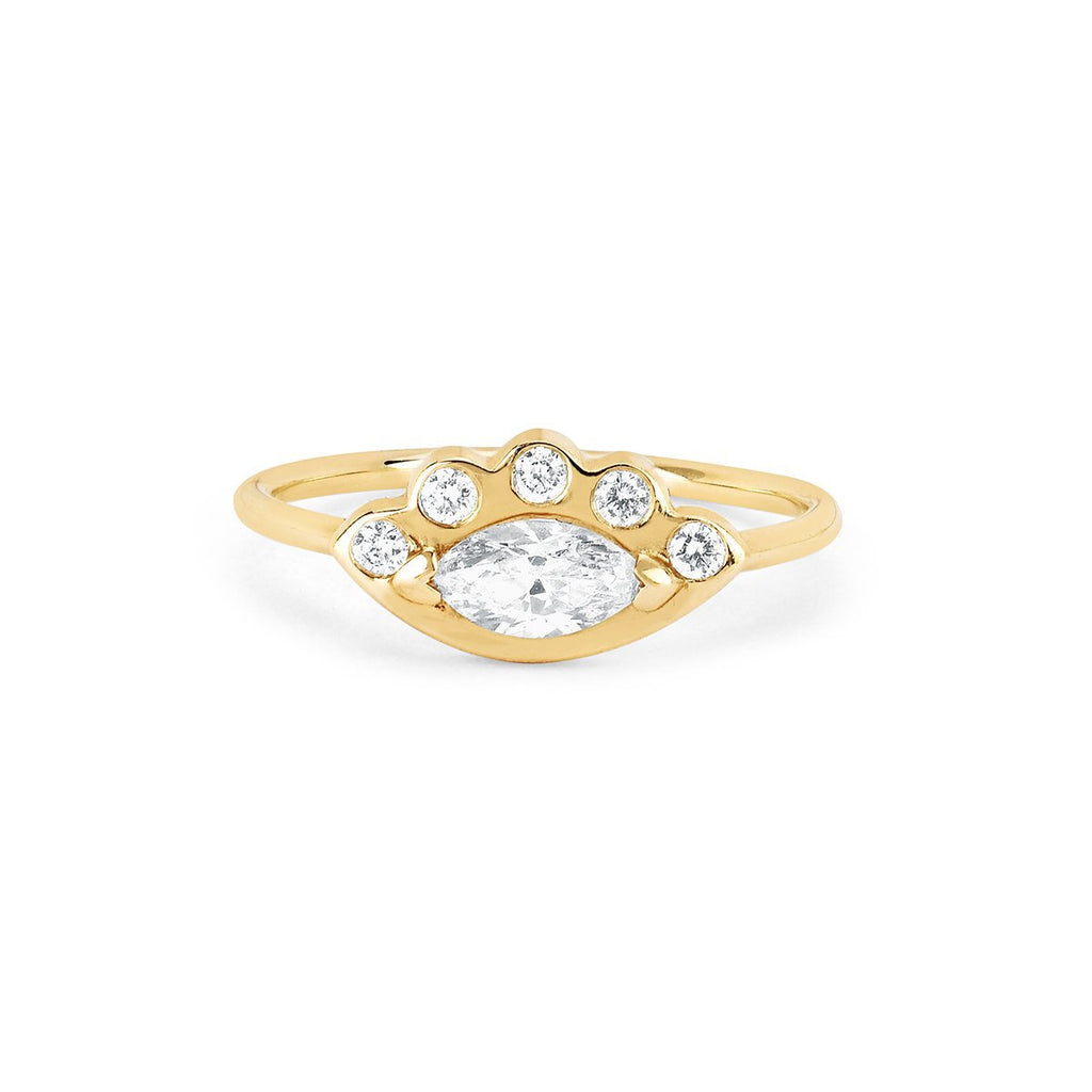 Diamond Angel Eye Ring Diamond Angel Eye Ring