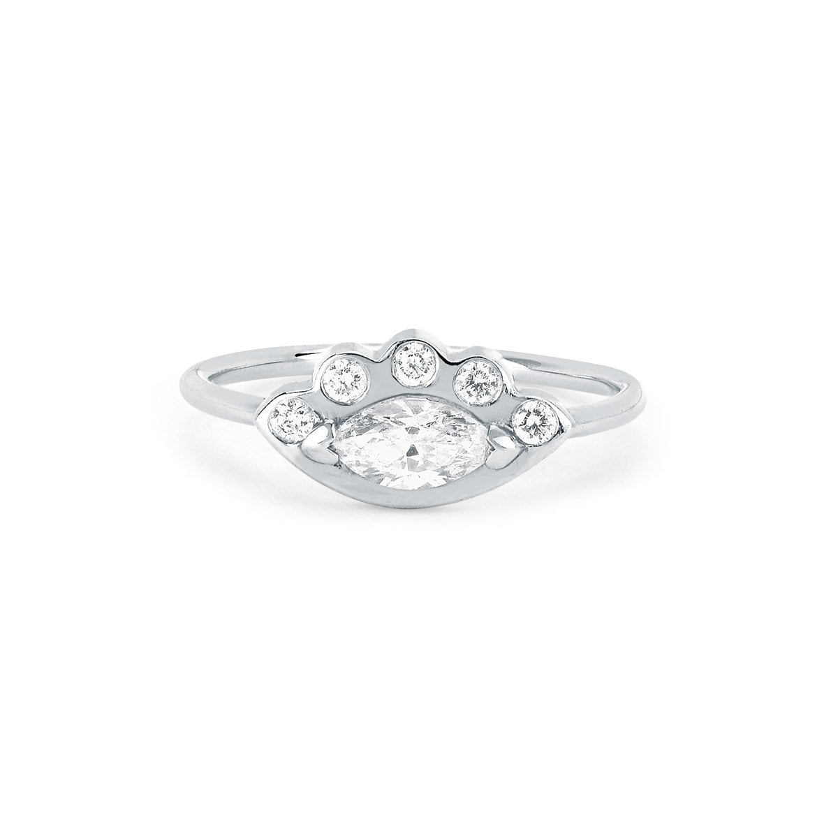 Diamond Angel Eye Ring
