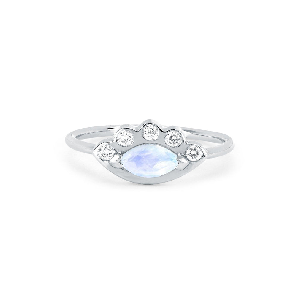 NEW! Moonstone Angel Eye Ring NEW! Moonstone Angel Eye Ring